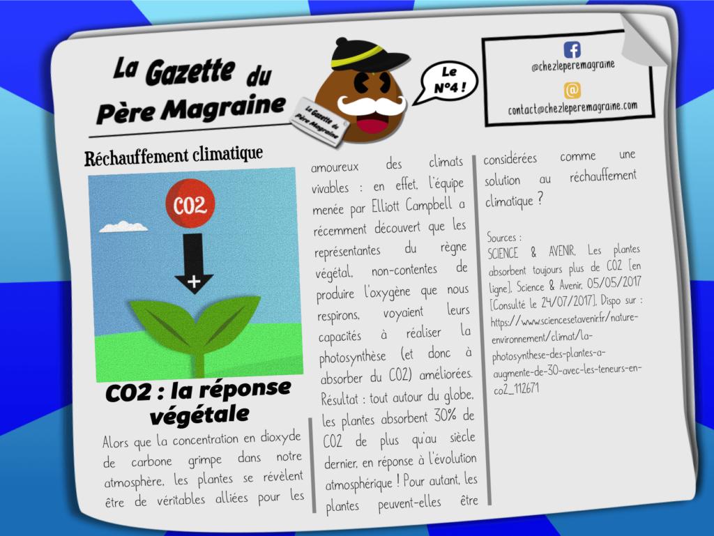 Gazette Père Magraine n°4 - Photosynthèse