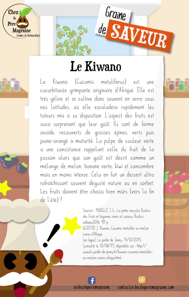 Graine de Saveur 2 - Le Kiwano