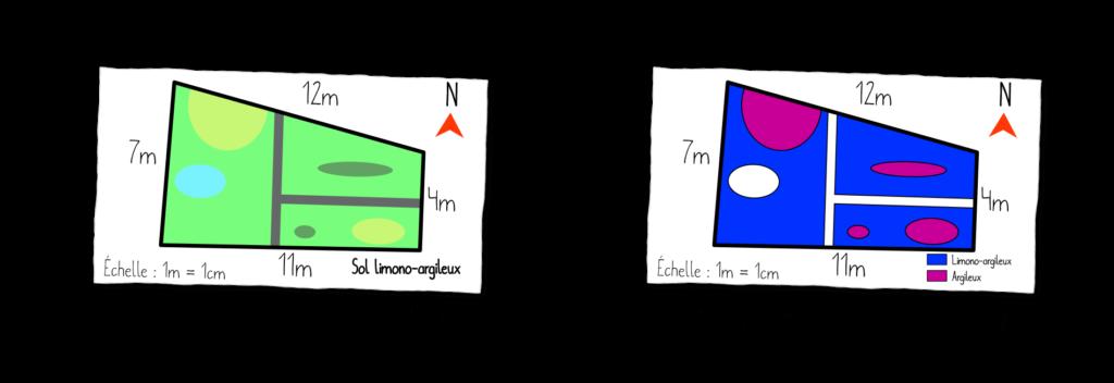 Carte des textures