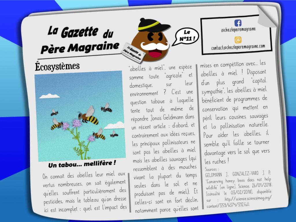 Gazette Père Magraine n°11 - Un tabou mellifère