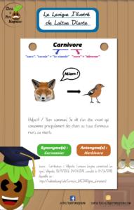 LexiqueIllustré Carnivore