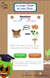 Lexique Illustré Omnivore